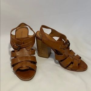 Maurices stacked high heels